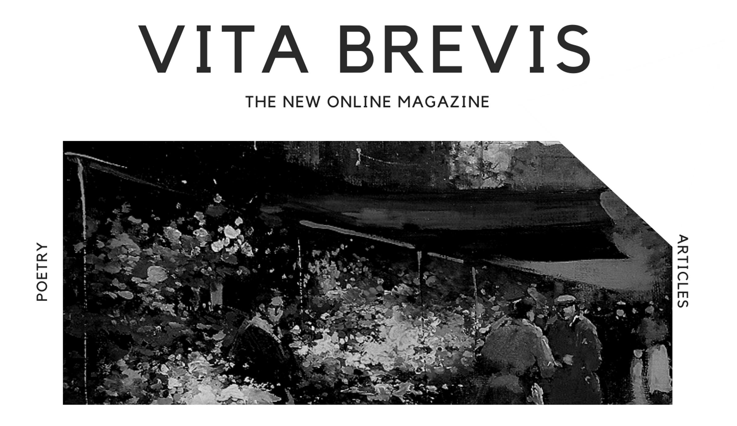 Vita Brevis Poetry Magazine Submit Poem
